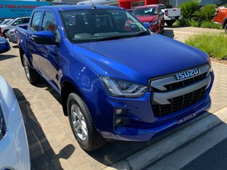 2020 Isuzu D-MAX RG MY21 LS-M Crew Cab Cobalt Blue 6 Speed Sports Automatic Utility.