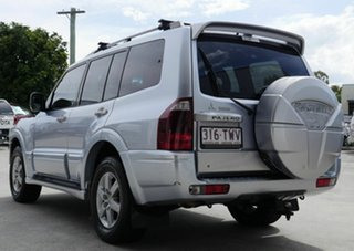 2004 Mitsubishi Pajero NP MY05 Exceed Silver 5 Speed Sports Automatic Wagon