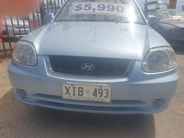 Used Hyundai Accent LC MY04 GL Morphett Vale, 2005 Hyundai Accent LC MY04 GL Blue 4 Speed Automatic Hatchback