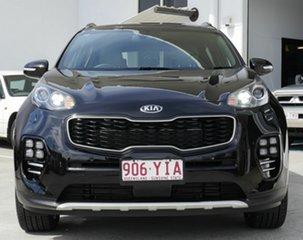 2018 Kia Sportage QL MY18 GT-Line AWD Black 6 Speed Sports Automatic Wagon.