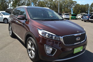2016 Kia Sorento UM MY16 Platinum AWD Red 6 Speed Sports Automatic Wagon.
