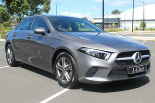 2019 Mercedes-Benz A-Class V177 800MY A180 DCT Mountain Grey 7 Speed Sports Automatic Dual Clutch.