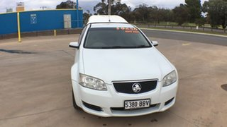 2010 Holden Ute VE MY10 Omega Heron White 4 Speed Automatic Utility
