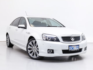 2014 Holden Caprice WN V White 6 Speed Auto Active Sequential Sedan.