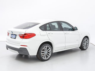 2015 BMW X4 F26 MY15 xDrive 20D White 8 Speed Automatic Coupe