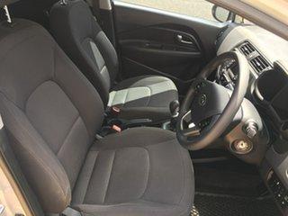2012 Kia Rio UB S Brown 6 Speed Manual Hatchback