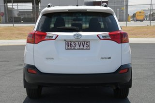 2015 Toyota RAV4 ZSA42R MY14 Upgrade GX (2WD) Glacier White Continuous Variable Wagon