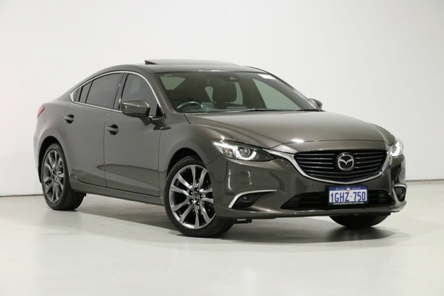 Used Mazda 6 6C MY17 (gl) Atenza Bentley, 2017 Mazda 6 6C MY17 (gl) Atenza Titanium 6 Speed Automatic Sedan