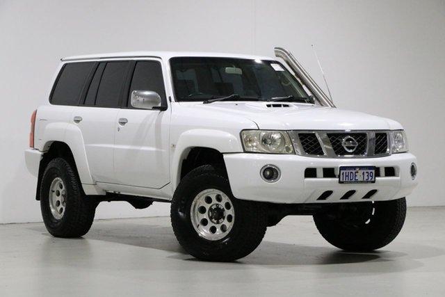 Used Nissan Patrol GU VII ST (4x4), 2011 Nissan Patrol GU VII ST (4x4) White 4 Speed Automatic Wagon