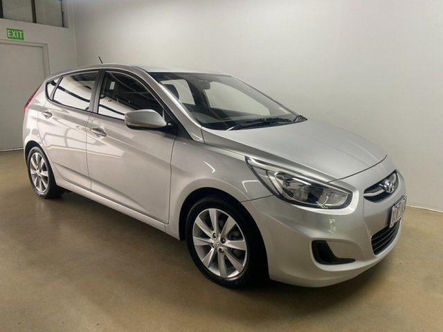 Used Hyundai Accent RB5 Sport, 2017 Hyundai Accent RB5 Sport Silver 6 Speed Automatic Hatchback