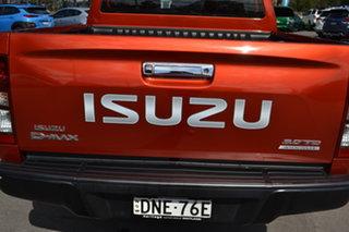 2017 Isuzu D-MAX MY17 LS-M Crew Cab Orange 6 Speed Sports Automatic Utility