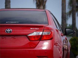 2017 Toyota Aurion GSV50R Sportivo Red 6 Speed Sports Automatic Sedan