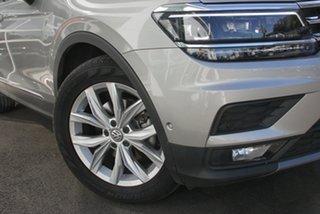 2019 Volkswagen Tiguan 5N MY20 132TSI Comfortline DSG 4MOTION Allspace Pyrit Silver Metallic 7 Speed.