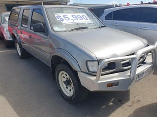 1998 Holden Rodeo TF R7 LX Crew Cab Silver 5 Speed Manual Utility.