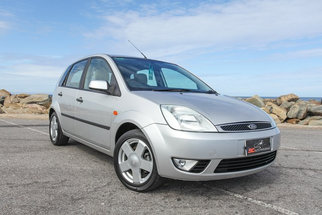 Used Ford Fiesta WP Ghia Lonsdale, 2004 Ford Fiesta WP Ghia Grey 5 Speed Manual Hatchback