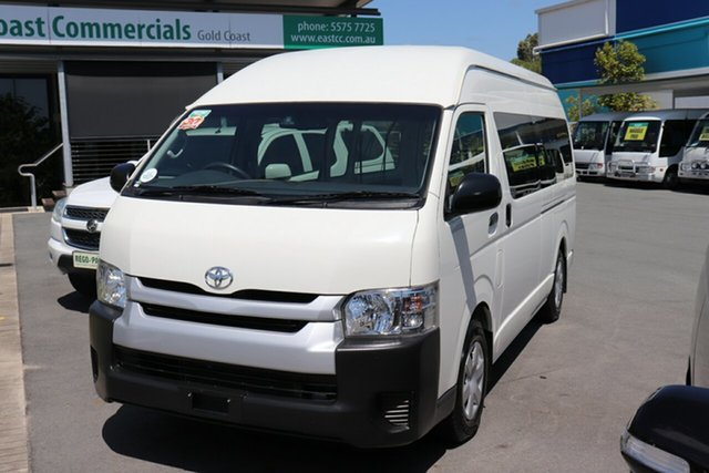 Used Toyota HiAce KDH223R Commuter, 2017 Toyota HiAce KDH223R Commuter White Automatic Mini Bus