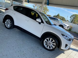 2012 Mazda CX-5 Grand Touring Crystal White Pearl Sports Automatic Wagon