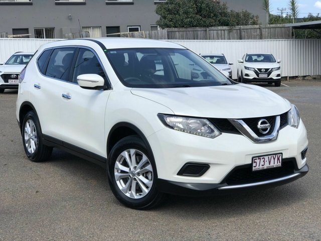 Used Nissan X-Trail T32 ST X-tronic 2WD, 2015 Nissan X-Trail T32 ST X-tronic 2WD White 7 Speed Constant Variable Wagon