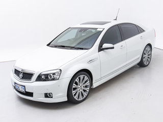 2014 Holden Caprice WN V White 6 Speed Auto Active Sequential Sedan