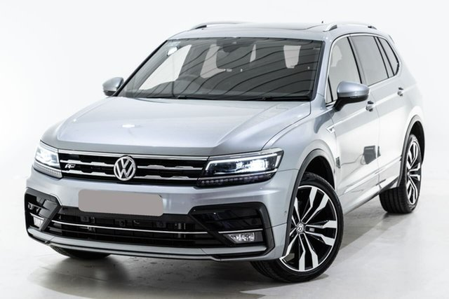 Used Volkswagen Tiguan 5N MY20 162TSI Highline DSG 4MOTION Allspace, 2019 Volkswagen Tiguan 5N MY20 162TSI Highline DSG 4MOTION Allspace Silver 7 Speed