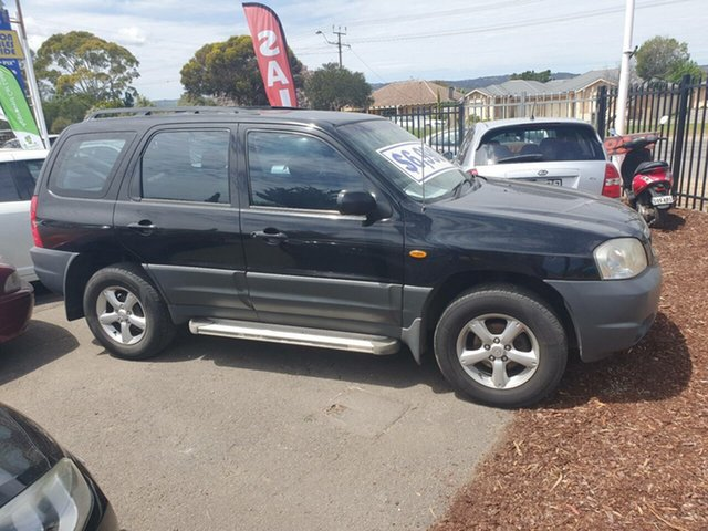 Used Mazda Tribute MY2004 Limited Traveller Morphett Vale, 2004 Mazda Tribute MY2004 Limited Traveller Black 4 Speed Automatic Wagon