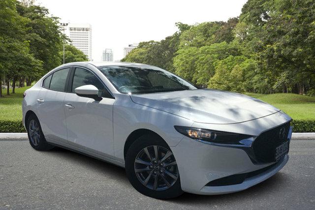Demo Mazda 3 BP2S7A G20 SKYACTIV-Drive Pure, 2020 Mazda 3 BP2S7A G20 SKYACTIV-Drive Pure White Pearl 6 Speed Sports Automatic Sedan