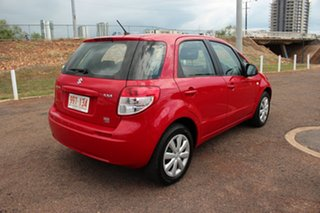2011 Suzuki SX4 GYA MY10 Red Mica 6 Speed Manual Hatchback