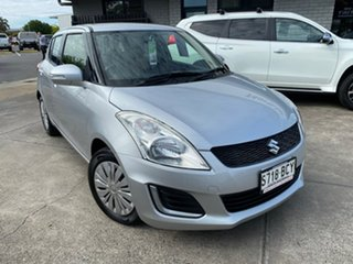 2014 Suzuki Swift FZ MY14 GL Silver 5 Speed Manual Hatchback.