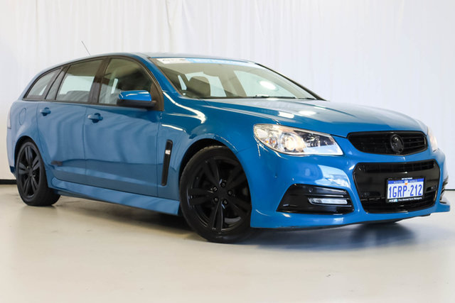 Used Holden Commodore VF MY14 SS Sportwagon, 2013 Holden Commodore VF MY14 SS Sportwagon Blue 6 Speed Sports Automatic Wagon