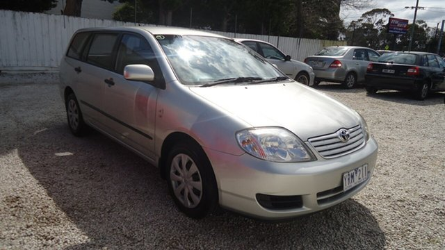 Used Toyota Corolla ZZE122R 5Y Ascent, 2006 Toyota Corolla ZZE122R 5Y Ascent Silver 4 Speed Automatic Wagon