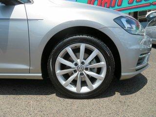 2018 Volkswagen Golf 7.5 MY19 110TSI DSG Comfortline Silver 7 Speed Sports Automatic Dual Clutch