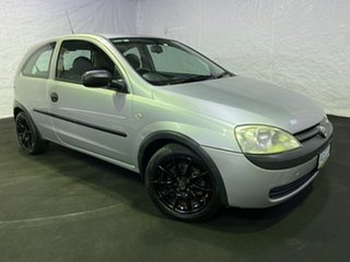 2002 Holden Barina XC Silver 4 Speed Automatic Hatchback.
