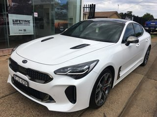 2018 Kia Stinger CK GT White Sports Automatic.