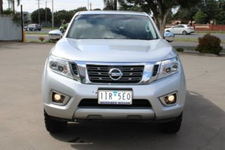 2016 Nissan Navara NP300 D23 ST (4x4) Silver 6 Speed Manual Dual Cab Utility.