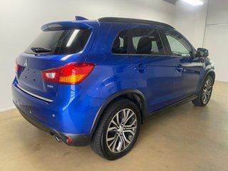 2016 Mitsubishi ASX XC MY17 LS (4WD) Blue 6 Speed Automatic Wagon.