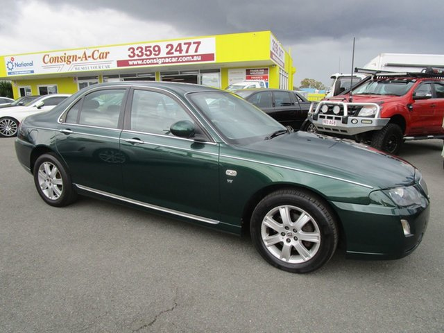 Used Rover 75 MY05 Club, 2004 Rover 75 MY05 Club Green 5 Speed Automatic Sedan