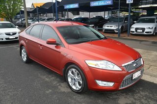 2008 Ford Mondeo MA TDCi Orange 6 Speed Automatic Hatchback.