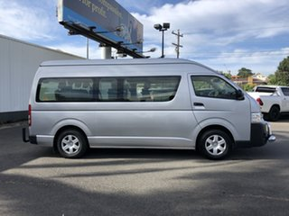 2016 Toyota HiAce KDH223R Commuter High Roof Super LWB Silver 4 Speed Automatic Bus