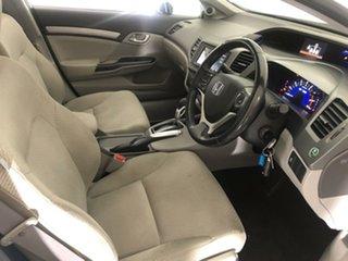 2012 Honda Civic 9th Gen Hybrid White 1 Speed Constant Variable Sedan Hybrid