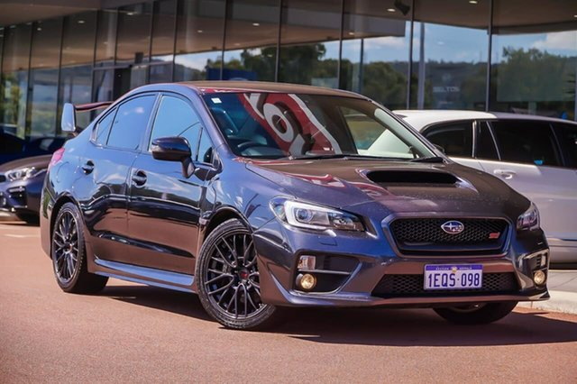 Used Subaru WRX V1 MY15 STI AWD Gosnells, 2014 Subaru WRX V1 MY15 STI AWD Grey 6 Speed Manual Sedan