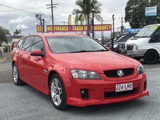 2008 Holden Commodore VE MY09 SV6 Sportwagon Red 5 Speed Sports Automatic Wagon.