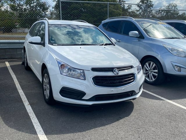 Used Holden Cruze JH Series II MY16 CD Sportwagon, 2016 Holden Cruze JH Series II MY16 CD Sportwagon White 6 Speed Sports Automatic Wagon