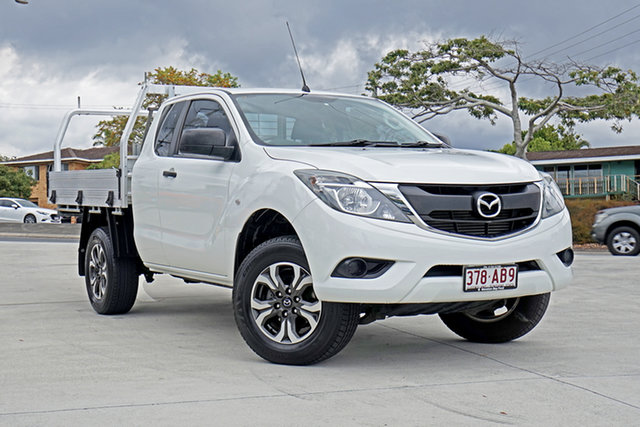 Used Mazda BT-50 UR0YF1 XT Freestyle 4x2 Hi-Rider, 2015 Mazda BT-50 UR0YF1 XT Freestyle 4x2 Hi-Rider White 6 Speed Sports Automatic Cab Chassis