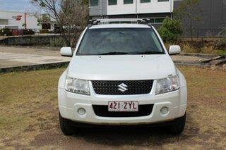 2009 Suzuki Grand Vitara JB MY09 White 5 Speed Manual Hardtop.