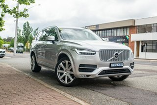 2018 Volvo XC90 L Series MY19 T6 Geartronic AWD Inscription Bright Silver 8 Speed Sports Automatic.