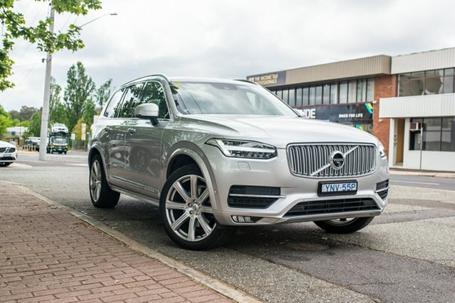 Used Volvo XC90 L Series MY19 T6 Geartronic AWD Inscription Phillip, 2018 Volvo XC90 L Series MY19 T6 Geartronic AWD Inscription Bright Silver 8 Speed Sports Automatic