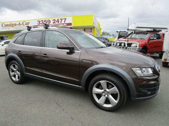 Used Audi Q5 8R MY11 TDI S Tronic Quattro, 2011 Audi Q5 8R MY11 TDI S Tronic Quattro Brown 7 Speed Sports Automatic Dual Clutch Wagon