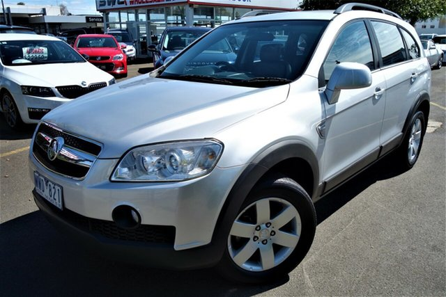 Used Holden Captiva CG MY09 CX AWD, 2009 Holden Captiva CG MY09 CX AWD Silver 5 Speed Sports Automatic Wagon