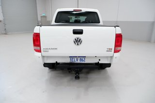 2014 Volkswagen Amarok 2H MY14 TDI420 4Motion Perm White 8 Speed Automatic Utility