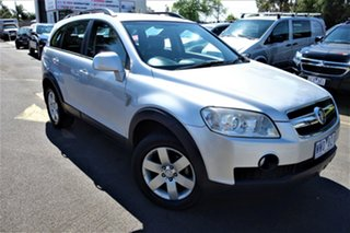 2009 Holden Captiva CG MY09 CX AWD Silver 5 Speed Sports Automatic Wagon.